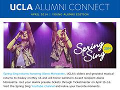 Alumni Connect - April 2014