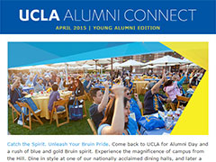 Alumni Connect - April 2015
