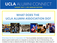 Alumni Connect - August 2017