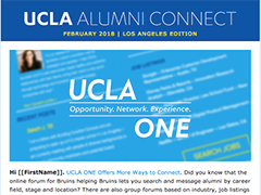 Alumni Connect - February 2018