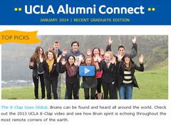 Alumni Connect - January 2014