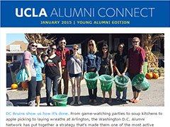 Alumni Connect - January 2015