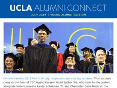 Alumni Connect - July 2014