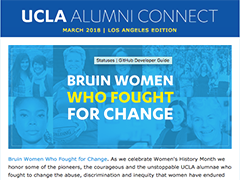 Alumni Connect - March 2018
