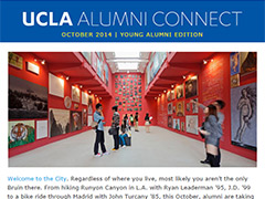 Alumni Connect - October 2014
