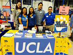 College ques UCLA??