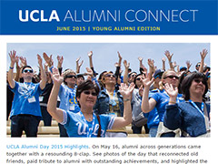 Alumni Connect - June 2015