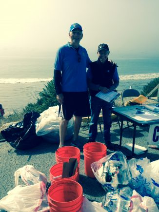Central Coast Bruins at Coastal Clean Up Day, September 17