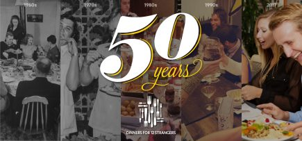 50 Years of Dinners with 12 Strangers