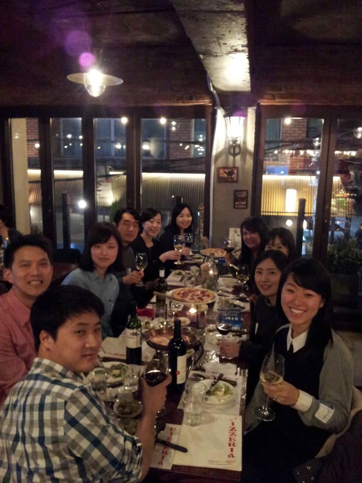 Dinner for 12 Strangers in Korea (2015)