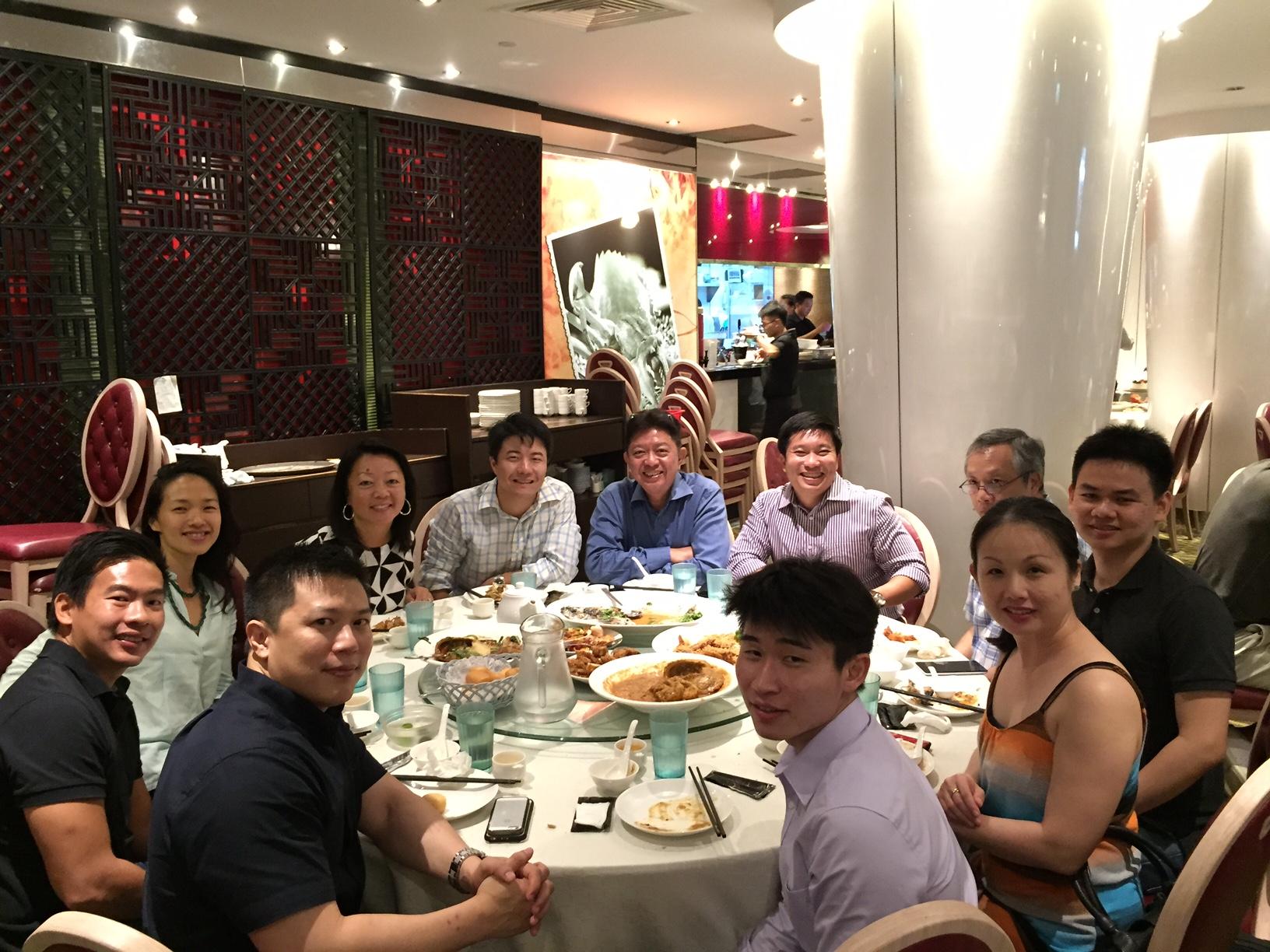 Singapore Board Dinner 2015