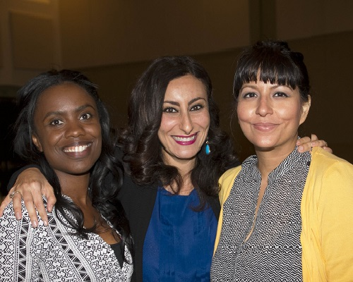 Amanda Gunn, Marian Gabra, Ph.D. '10, and Fanny Garcia