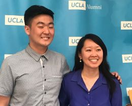 Brian Woo and Minh-An Cao '12