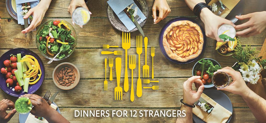 Dinners for 12 Strangers - 2020