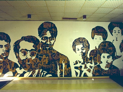 The Black Experience mural