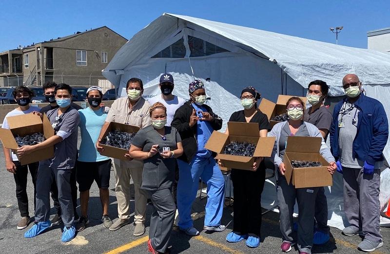 Los Angeles Humanitarian Initiative team