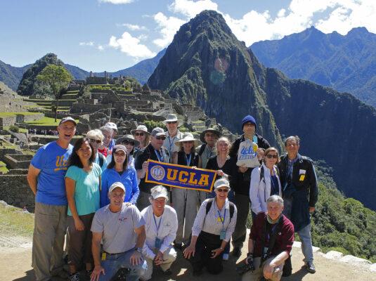UCLA Travel Group at Machu Picchu