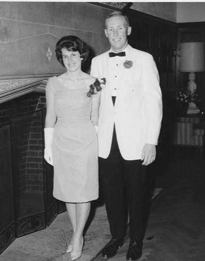 Bob and Nancy Weeks, UCLA Day Reception, 1963