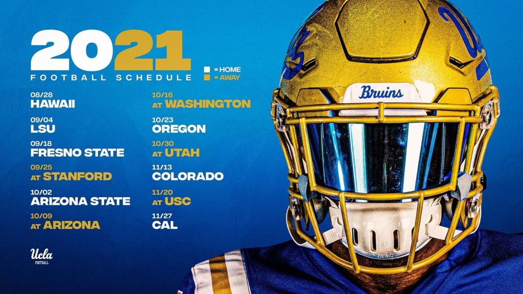UCLA 2021 Football Schedule