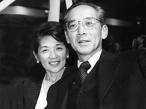 Yuji Ichioka '62 and his wife Emma Gee